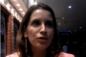 11/12/11 - Venezuela negotiator Claudia Salerno