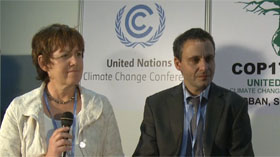 Mr Cort Brun Voige and Ms Heidi Pesch