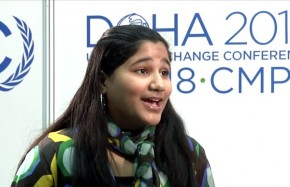 COP18: As 'tomorrow's heroes', young people are vital to talks