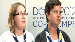 COP18: Girl guides speak for 10 million girls on climate change