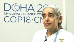 COP18: We must change the way we view the world and our environment