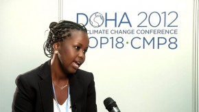 COP18: Young people have the solutions to climate change