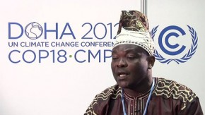 COP18: Climate change is destroying communities in Ghana