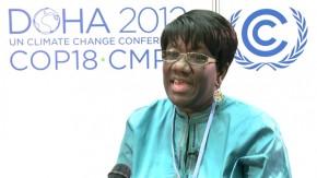 COP18: Fatimata Dia Touré, Institut de l'énergie et de l'environnement de la Francophonie
