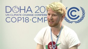 COP18: Do not underestimate the power of the youth, says UKYCC
