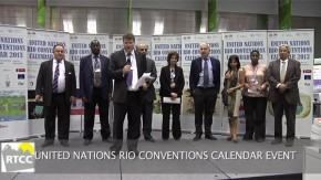 COP18: Rio Conventions 2013 Calendar Launch