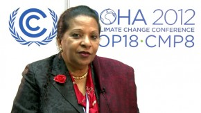 COP18 Maria Jardim, Environment Minister of Angola