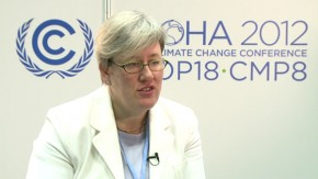 COP18: Climate change will pull rug from underneath, says World Bank's Rachel Kyte