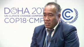 COP18: Climate change must be treated as ethical issue, say Pacific Islanders