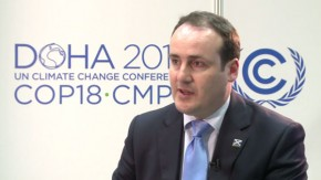 COP18: Scotland's 100% renewable target is feasible, says Minister