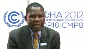 COP18: Alex Bleriot Momha, Lake Chad Basin Commission