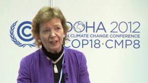 COP18: Mary Robinson calls for mass mobilisation of people for climate justice