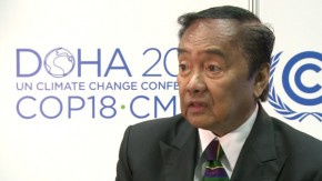 Heherson Alvarez: Typhoon Bopha has wrecked the Philippines