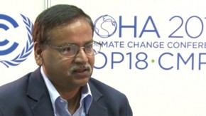 Saleemul Huq: loss and damage is integral to UN climate talks