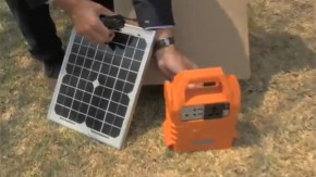 Ecoboxx: solar powered solutions for remote communities