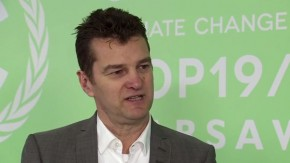 COP19: Anders Österlund on the high interest among businesses over talks