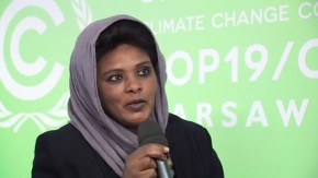 COP19: Balgis Osman-Elasha on the African Development Bank Group's climate change framework