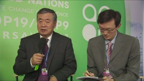 COP19: He JianKun on China's energy comsumption
