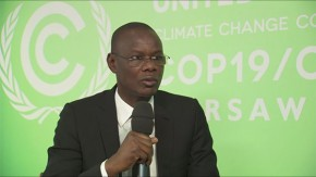COP19: Mor Ngom  talks about Senegal wish host COP22