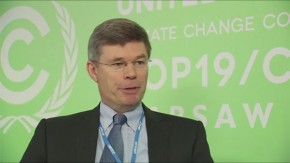 COP19: Nick Dunlop on renewable energy