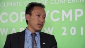 COP19: Tempa Gyaltsen Zamlha speaks about Tibetan Plateau
