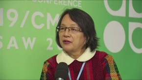 COP19: Victoria Trauli-Corpuz on the importance of having indigenous peoples at these talks