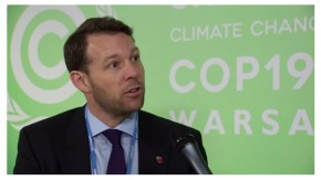 COP 19: Tracking climate finance is imperative says Adrian Rimmer