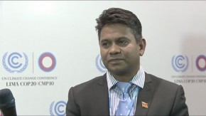 COP20: Randy Ramadhar, Ministry of Energy and Energy Affairs