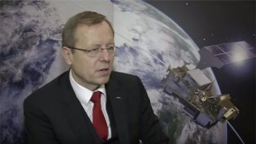 Johann-Dietrich Wörner, Director General of ESA